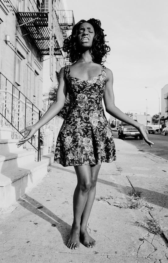 A piece of fine art art photography titled Park Slope Diva by Zoë Collins