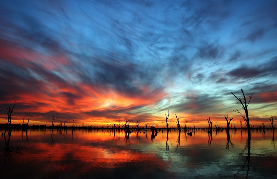 A piece of fine art art photography titled Lake Mystic by Tad Cholinski