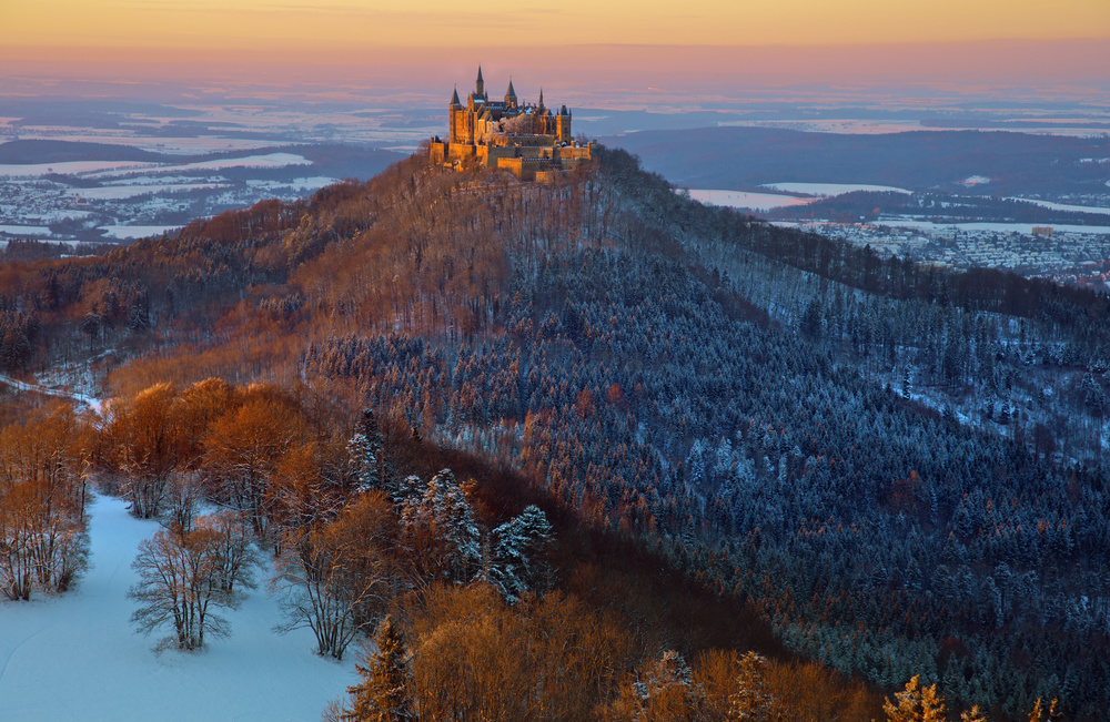 Hohenzollern in  Winter mood