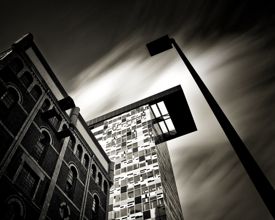 A piece of fine art art photography titled - Verticals #5 - by Arkadius Zagrabski
