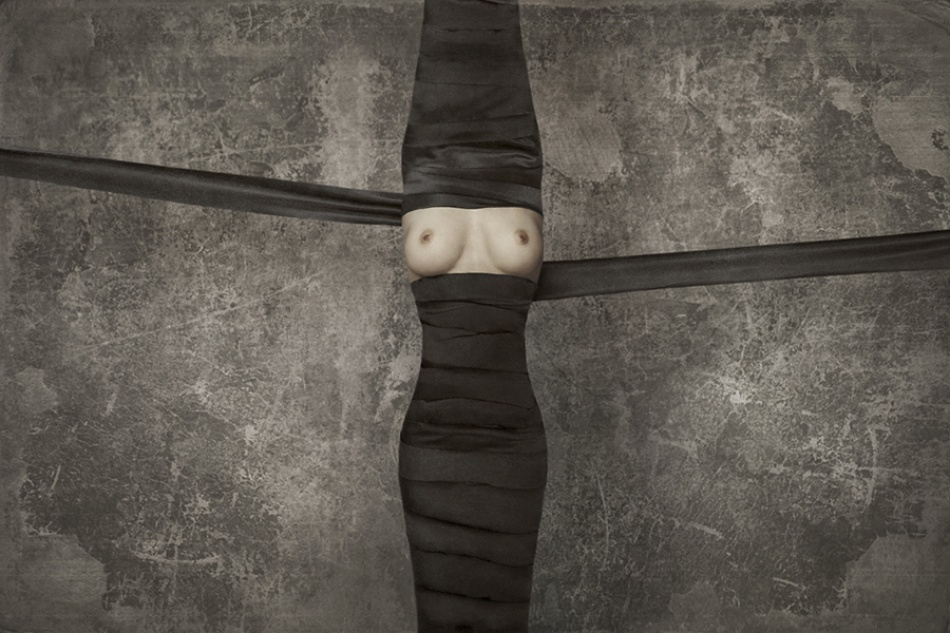 A piece of fine art art photography titled Ties by Vladimir Katiev