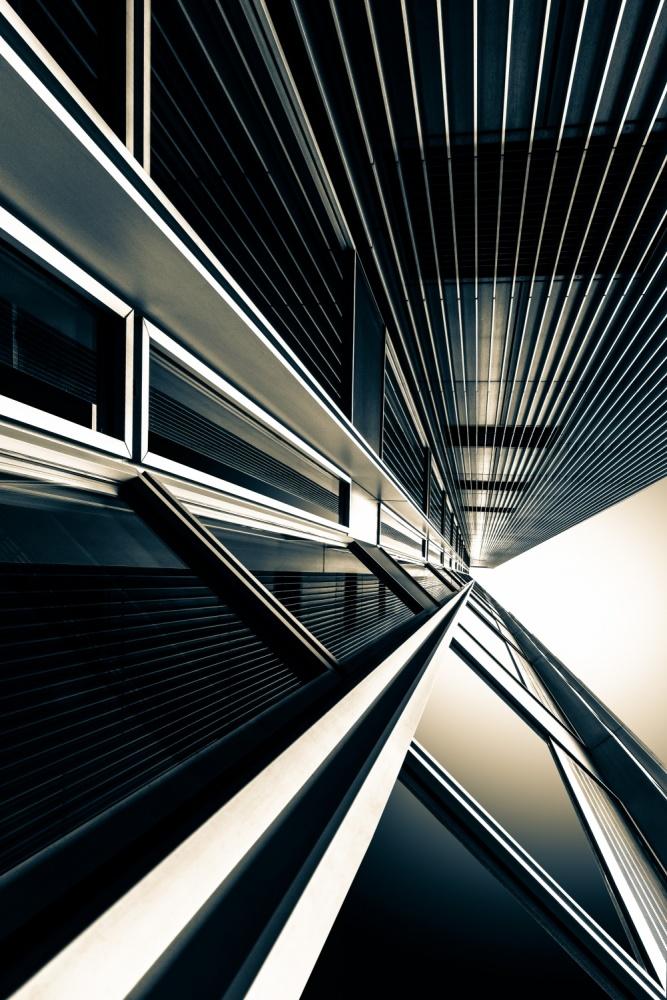 A piece of fine art art photography titled Eccentric by Ute Scherhag