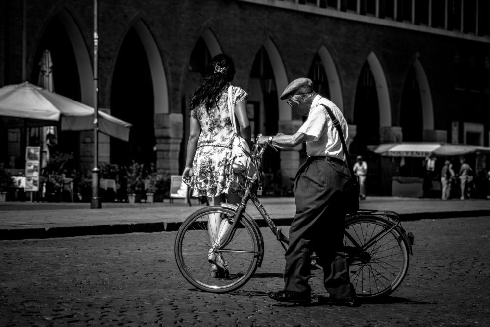 A piece of fine art art photography titled Ferrara, 2013 by Traven Milovich