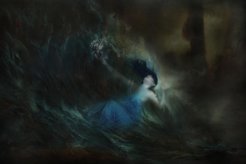 A piece of fine art art photography titled My Devotion by Johannes Oei
