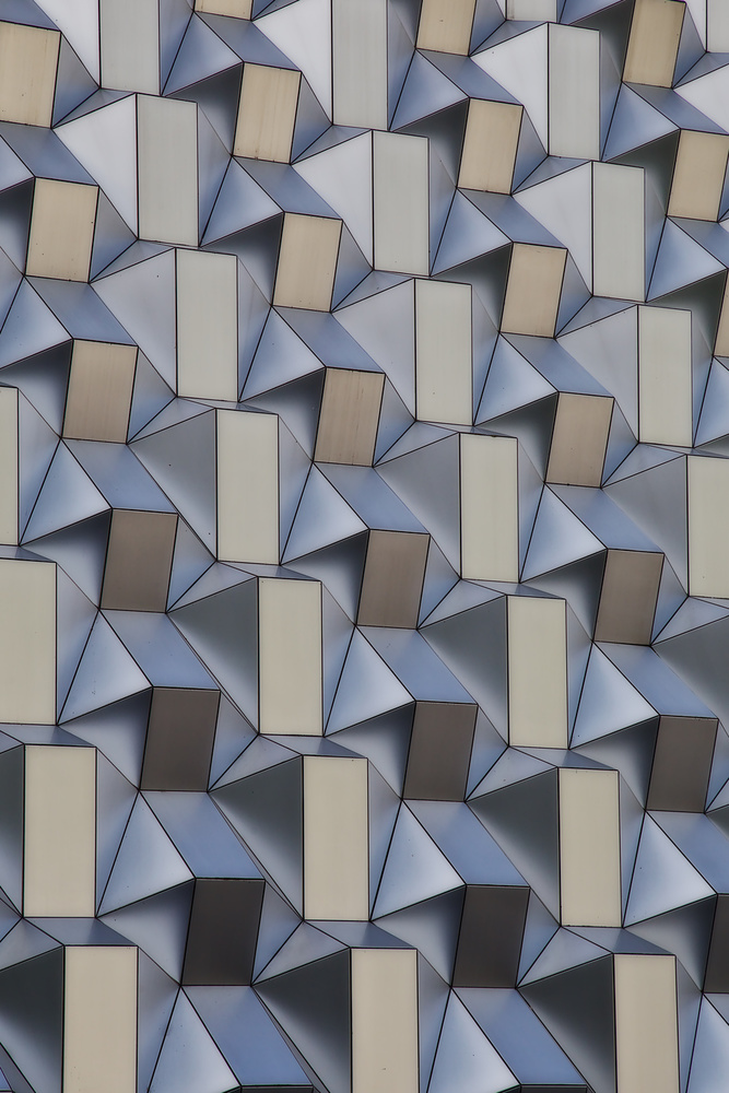 A piece of fine art art photography titled Metal Shapes by Udo Dittmann