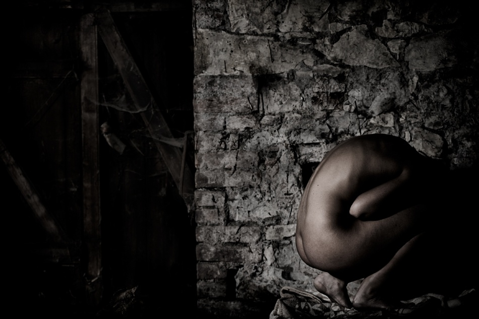 A piece of fine art art photography titled Draw-down by Jarda Polivka
