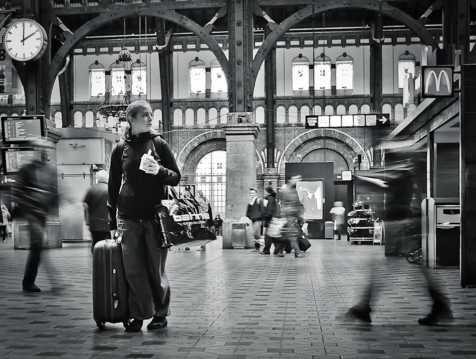 A piece of fine art art photography titled Where? by Soeren Friberg