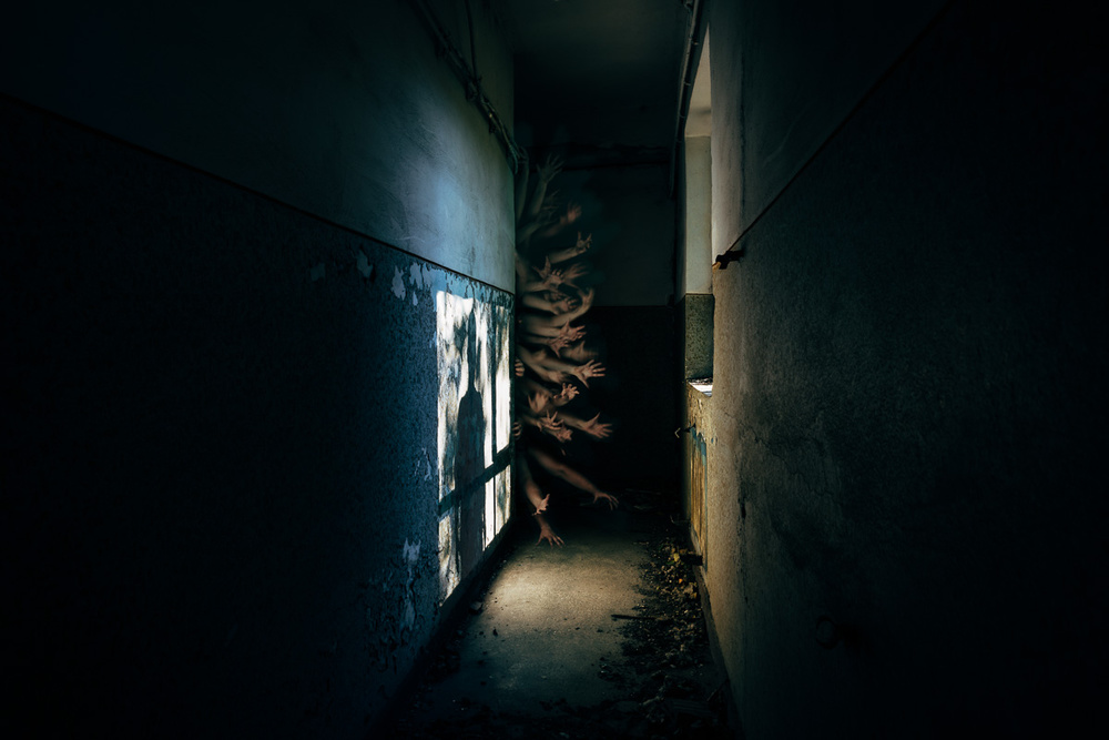A piece of fine art art photography titled Ghost_13 by Pierre Pichot
