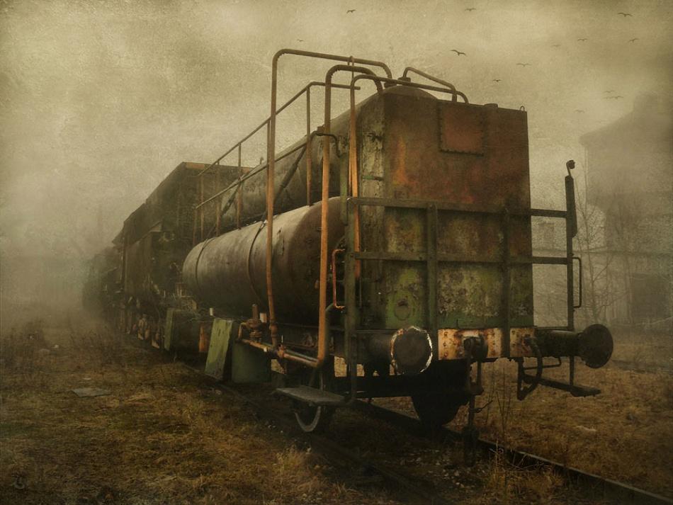A piece of fine art art photography titled Stalker 2 by Marcin Toczylowski