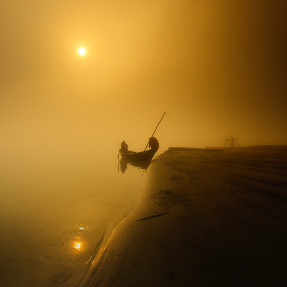 A piece of fine art art photography titled The Spiritual Journey by Mohammad Rahman