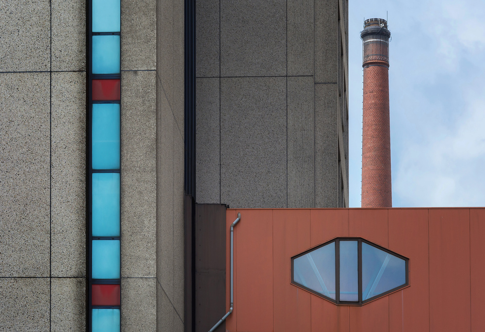 A piece of fine art art photography titled Chimney by Henk van Maastricht