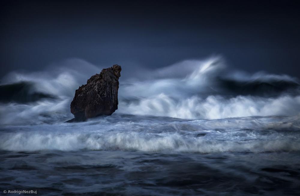 Herded sea in wrath