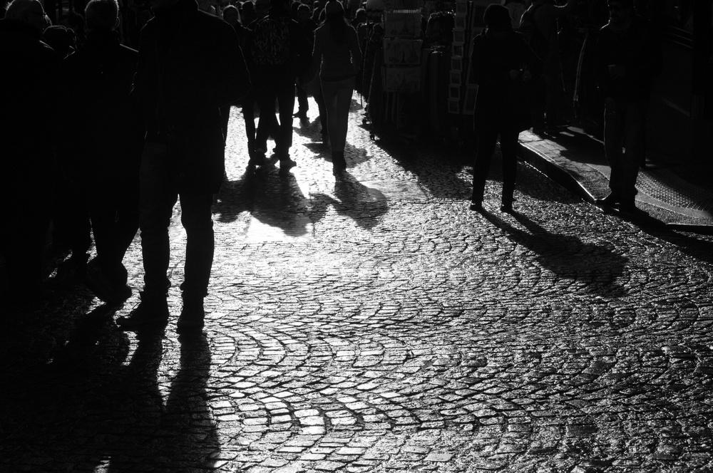 Steps in the light