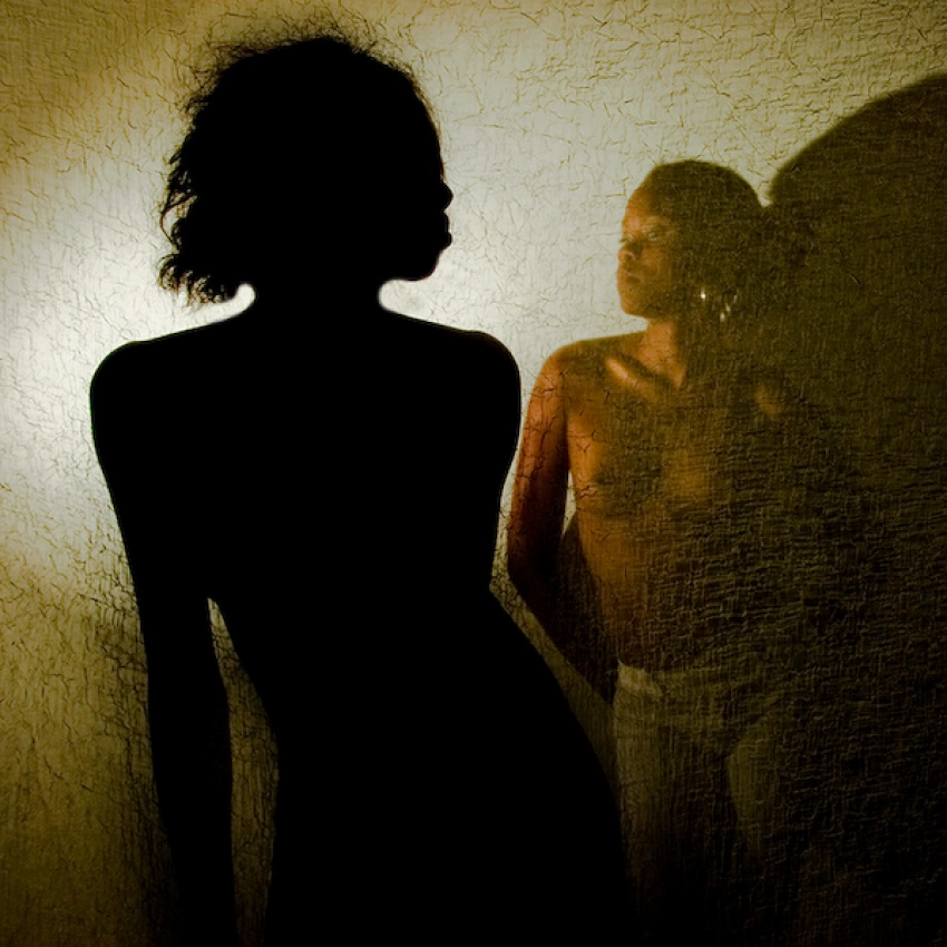 A piece of fine art art photography titled The  Other Shadow by Ivano Coltellacci
