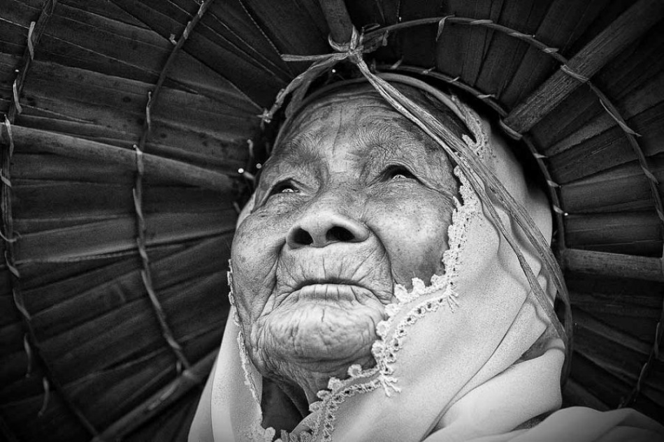A piece of fine art art photography titled Grandma by Ervan Nanggalo
