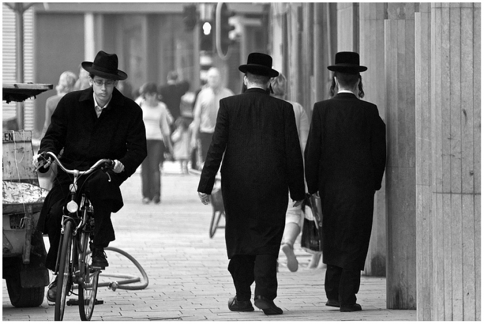 A piece of fine art art photography titled The Jewish District, Antwerp (Belgium) by Aart de Boer