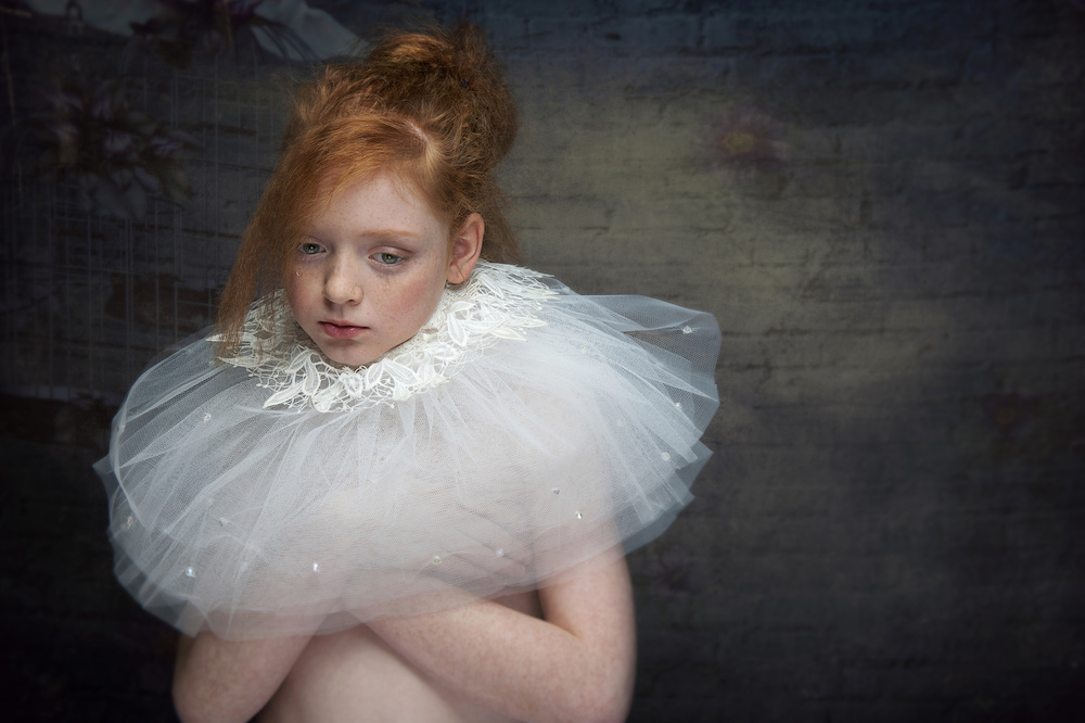 A piece of fine art art photography titled Growing Up by Monika Vanhercke