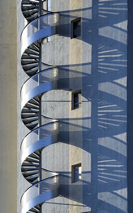 A piece of fine art art photography titled Stairs by Aline Nedelec