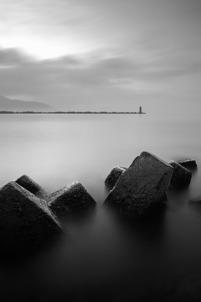 View this piece of fine art photography titled The lighthouse by Rolf Endermann