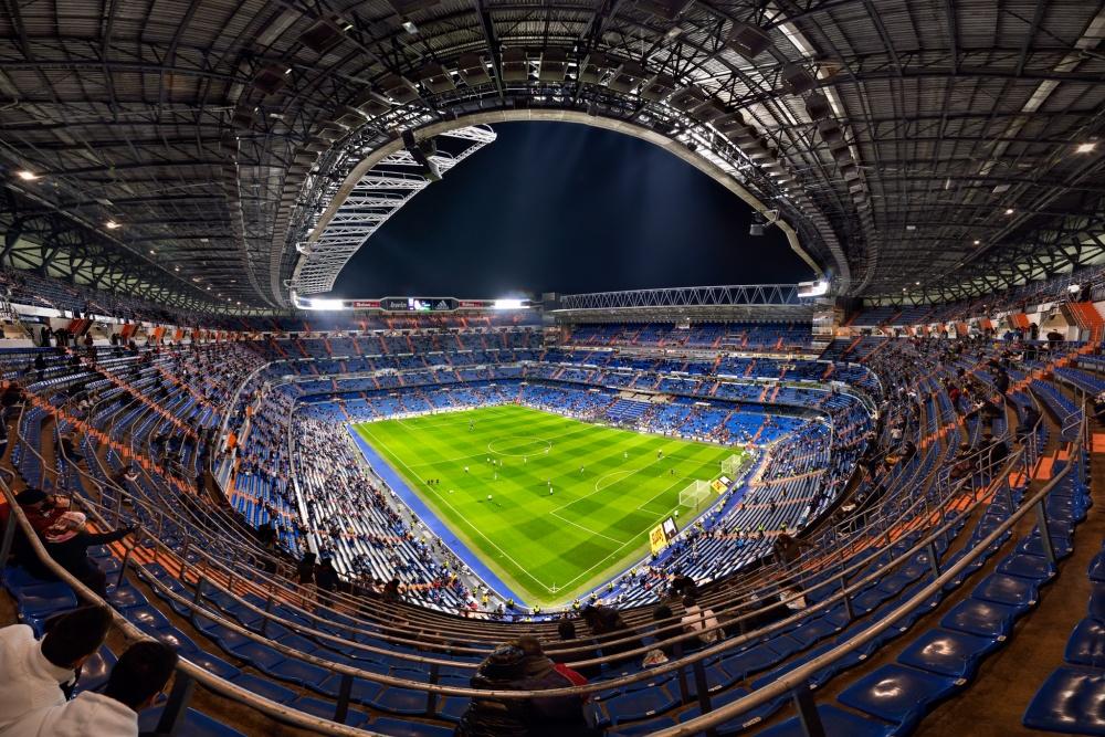 A piece of fine art art photography titled Santiago Bernabéu by Jesús M. García