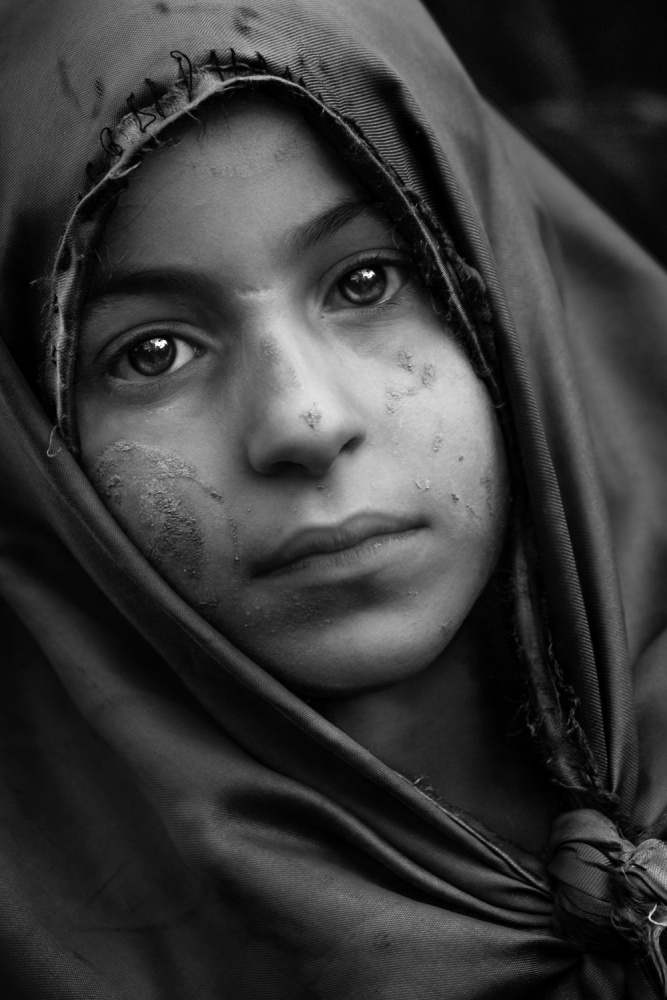 A piece of fine art art photography titled Ya Hussain by Jaffar Alhalwachi