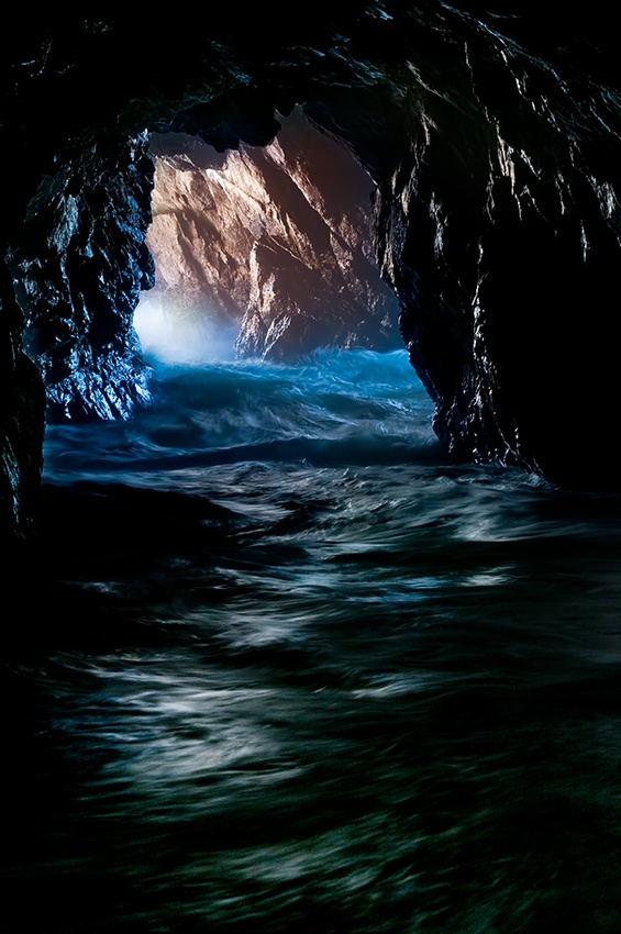 A piece of fine art art photography titled Claustrophobia by Doug Solis