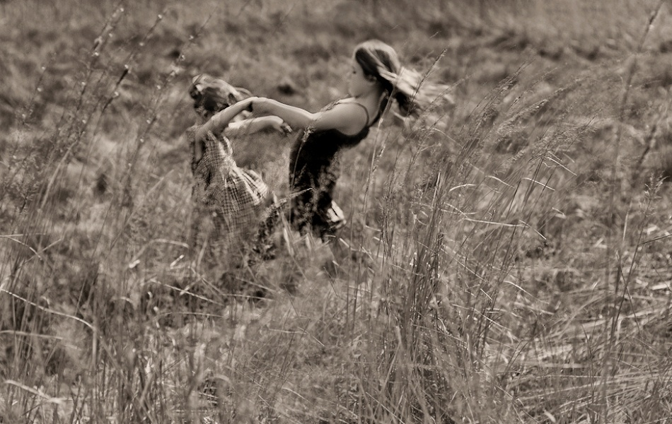 A piece of fine art art photography titled Dancing With the Wind by Monique
