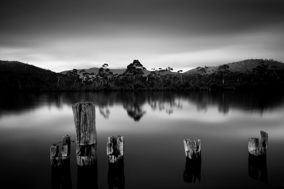 A piece of fine art art photography titled Huon Valley by Alex Wise