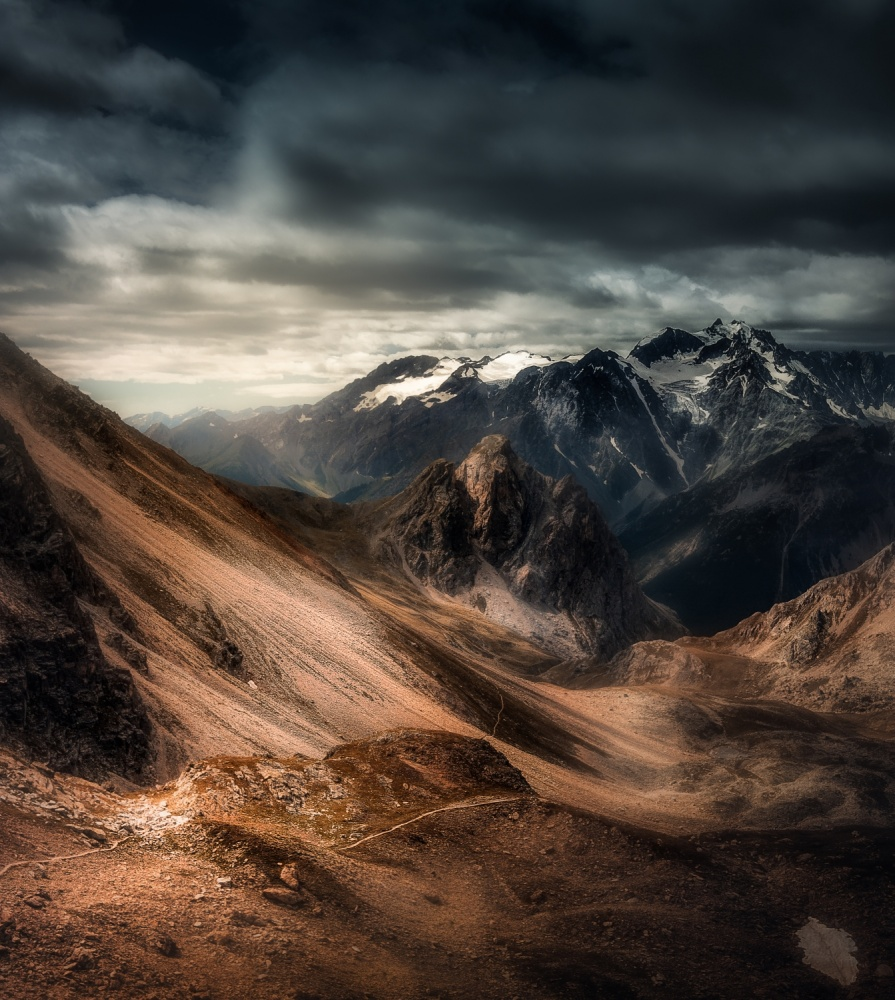 A piece of fine art art photography titled Desolation by Aliaume Chapelle