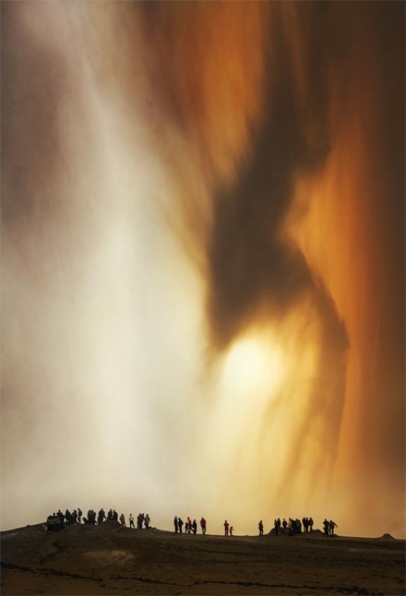 A piece of fine art art photography titled Collective Mind by Ileana Bosogea-Tudor