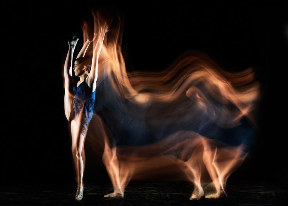 A piece of fine art art photography titled BullDancer by Manuel Cafini