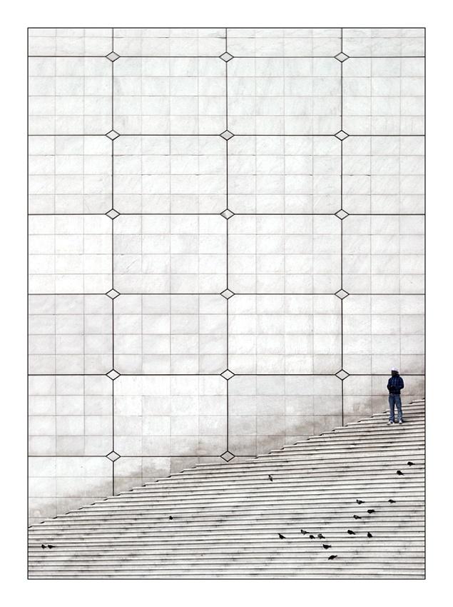 A piece of fine art art photography titled Paris III: La Défense by sensorfleck