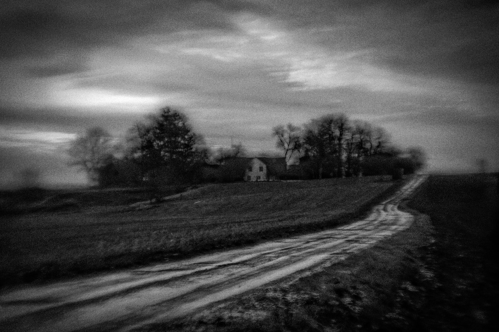 A piece of fine art art photography titled Morning by Jørgen Feldstedt