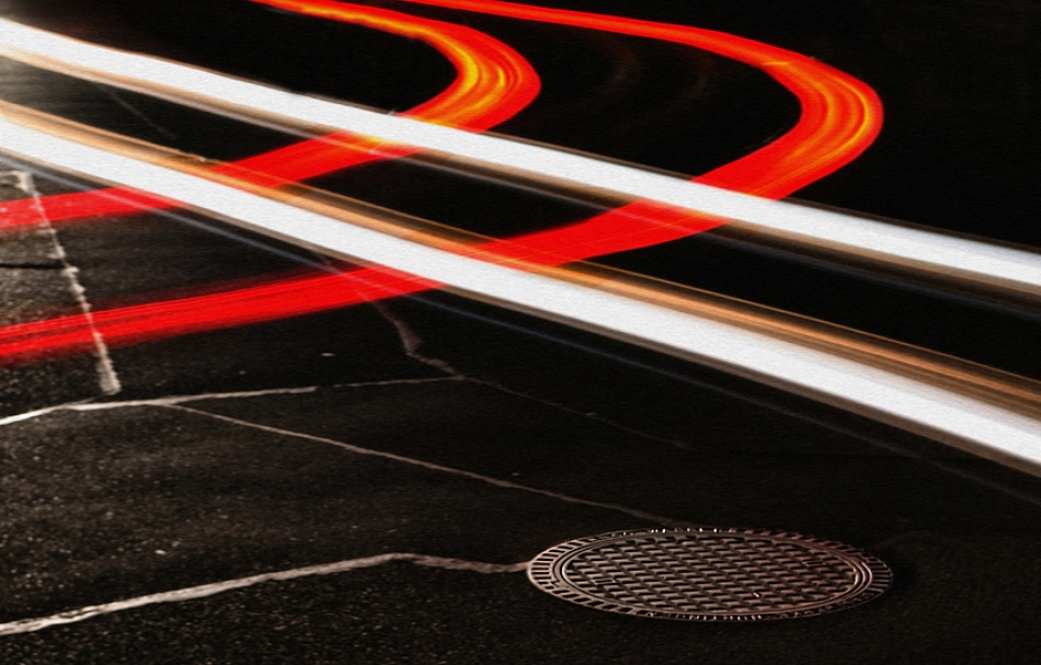 A piece of fine art art photography titled Crossing by kregon