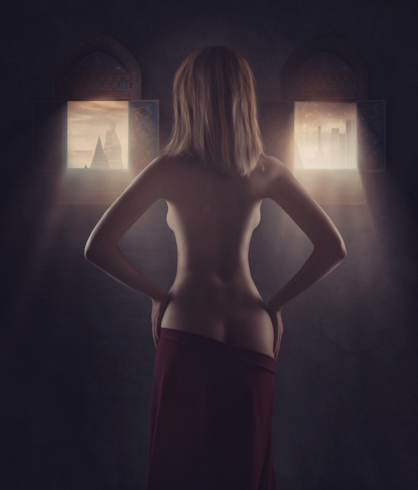 A piece of fine art art photography titled Light by Evgeny Loza