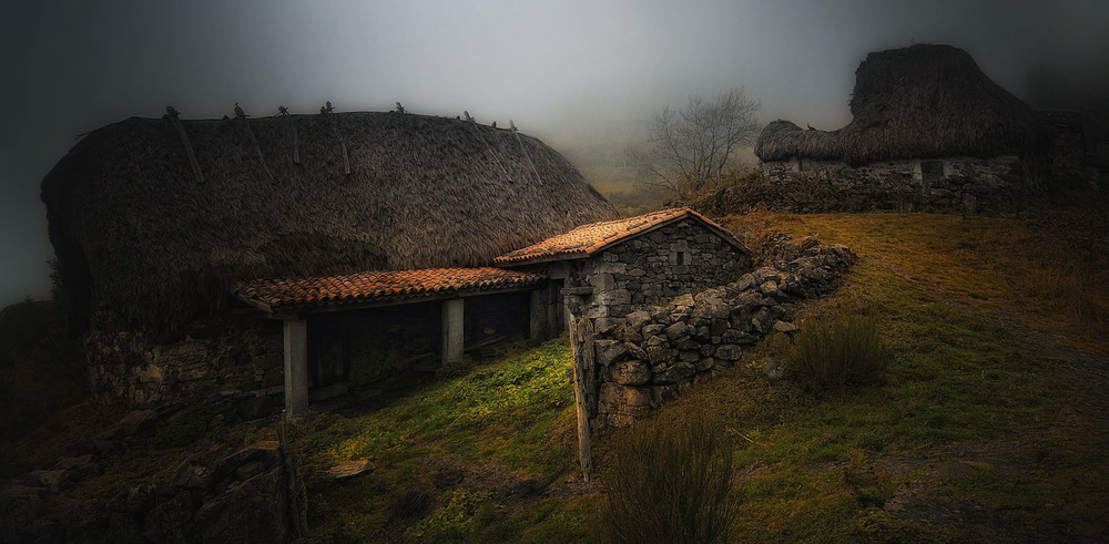 A piece of fine art art photography titled Abandonment by Amador Funes
