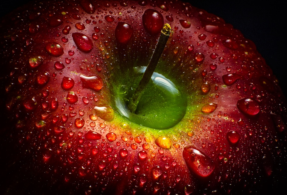 A piece of fine art art photography titled Red Apple by Aida Ianeva