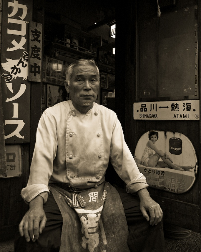 A piece of fine art art photography titled Tateno-san by Alfredo J. Martiz J.