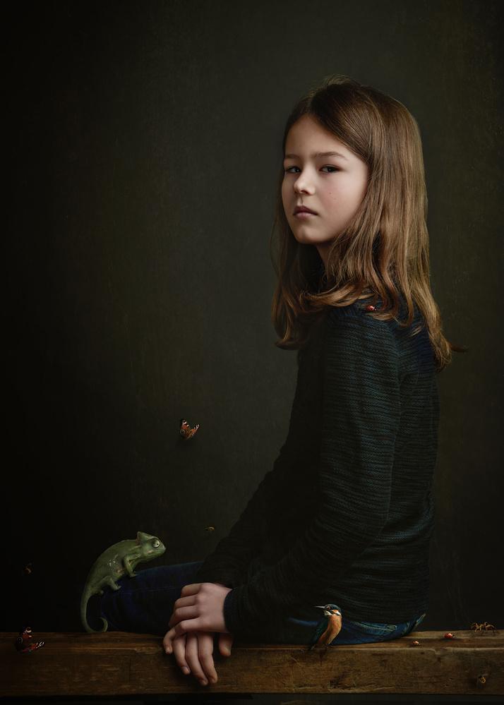 A piece of fine art art photography titled Daniel by Gemmy Woud-Binnendijk