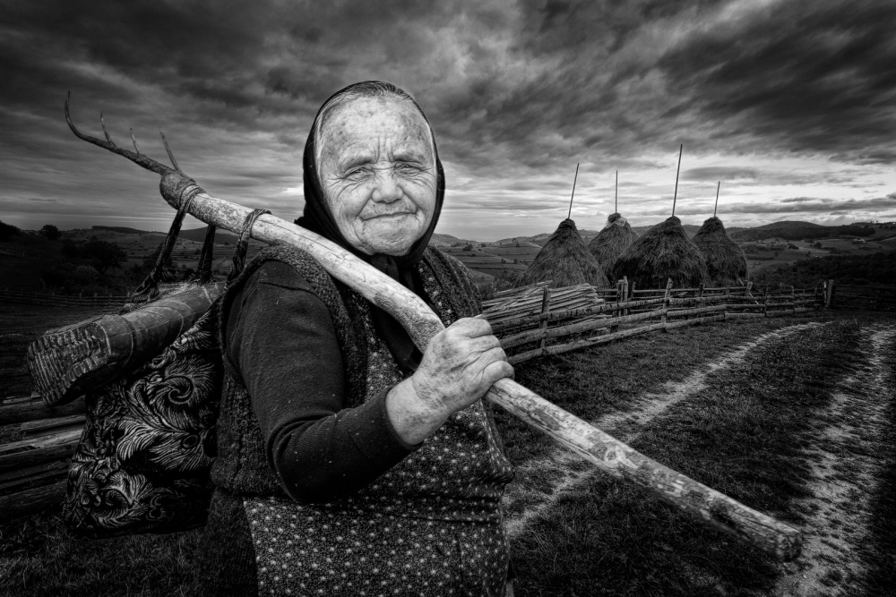 A piece of fine art art photography titled Rural Life by Jose Beut