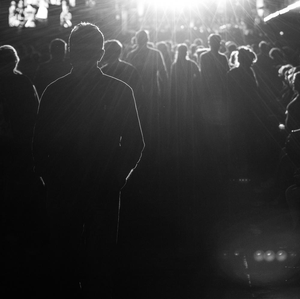 A piece of fine art art photography titled The Dark Silhouette by Razvan Lazarescu