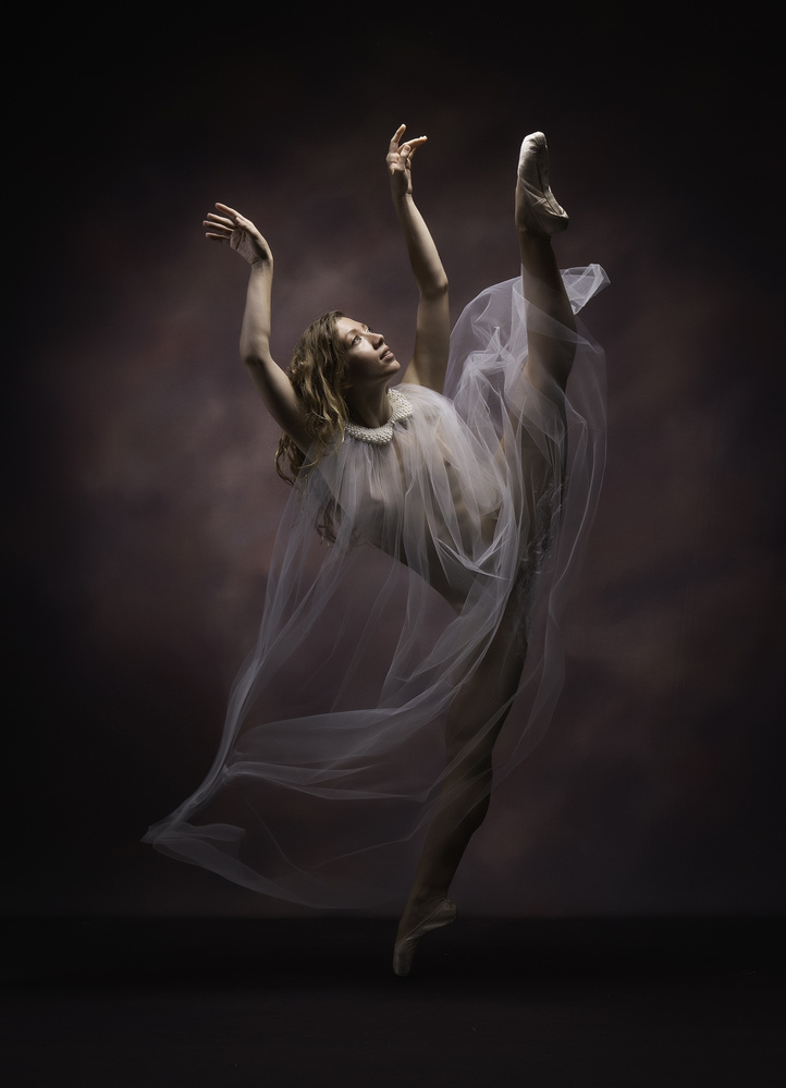 A piece of fine art art photography titled Towards the Light by Catchlight Studio