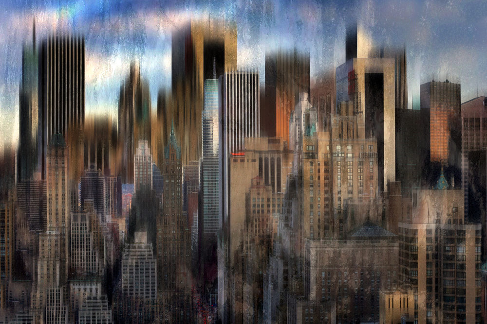 View this piece of fine art photography titled Midtown Jungle by Hans-Wolfgang Hawerkamp