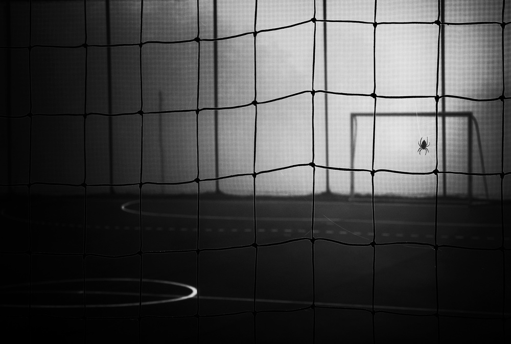 A piece of fine art art photography titled Goalkeeper by Samanta Krivec