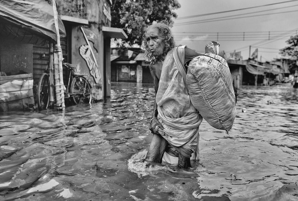 A piece of fine art art photography titled Struggle of Life by Avishek Das