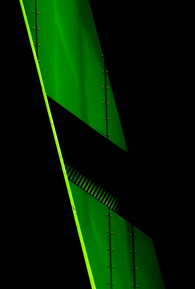 A piece of fine art art photography titled Green Mood by Jacqueline Hammer
