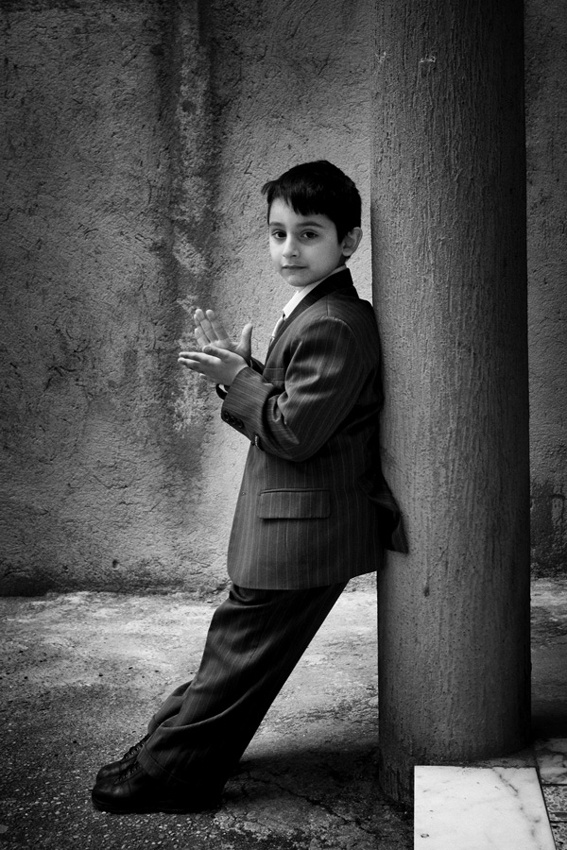 A piece of fine art art photography titled Little Big Man by Enzo Penna