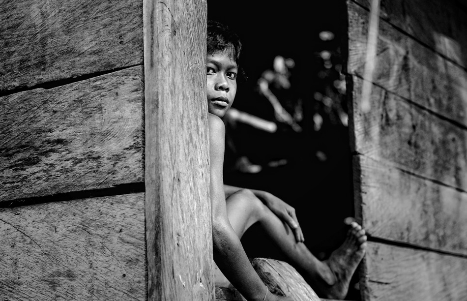 A piece of fine art art photography titled Kalimantan Native by Donny Herlambang