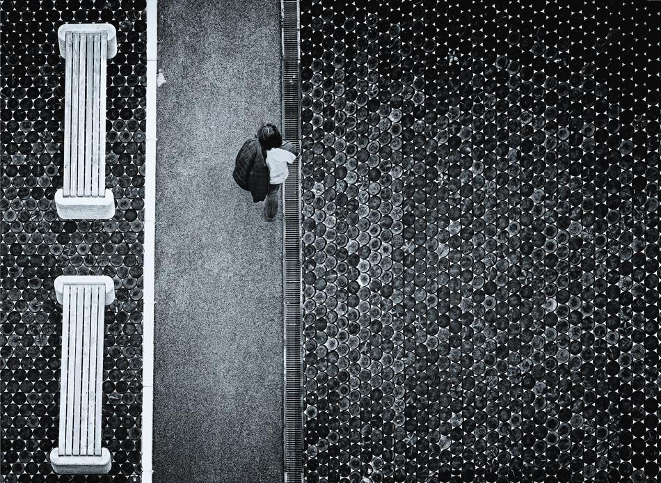 A piece of fine art art photography titled Just Another Passenger by Izidor Gasperlin