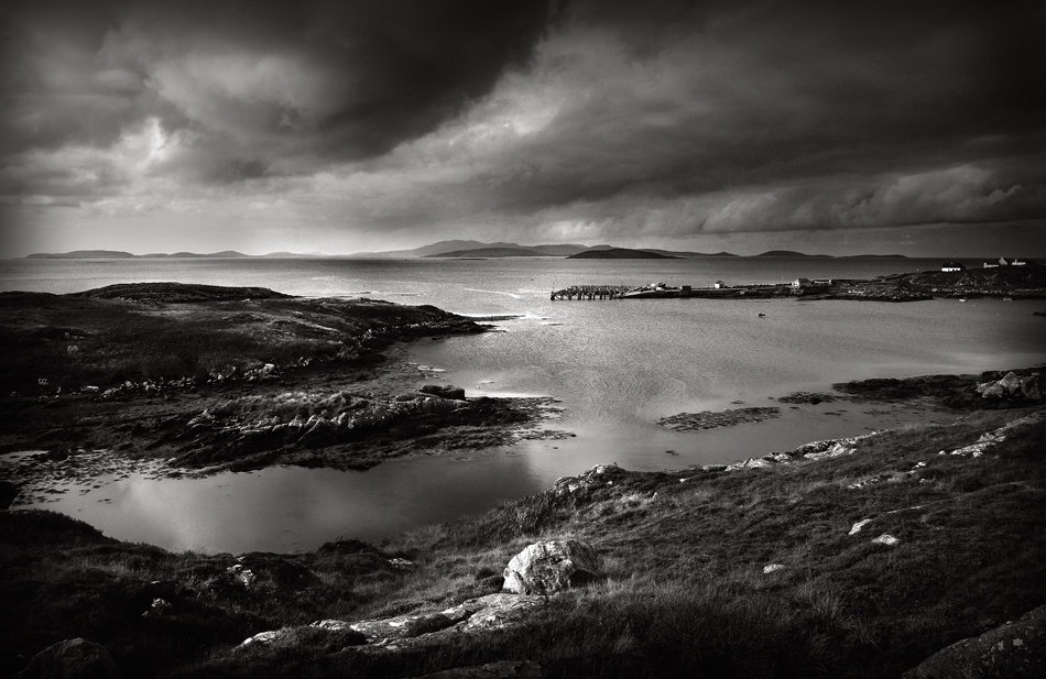 A piece of fine art art photography titled Barra Dreaming by Dohmnuill